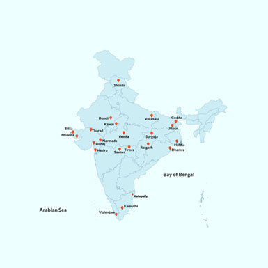 Locations in India